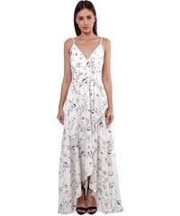 2fd399f725 Luigi Φόρεμα Κρουαζέ Floral - Λευκό - 004
