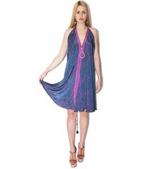 392fb04c9321 2Style Φόρεμα Μακρύ Μεταξωτό- ΜΩΒ