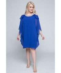 cd6f39619f71 Happysizes Midi ρουά φόρεμα με παγιέτες στην λαιμόκοψη