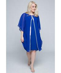 e1ad82668baf Happysizes Midi ρουά φόρεμα με παγιέτες κατά μήκος