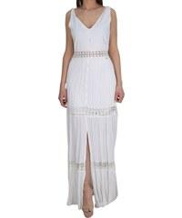 0ccce5aafa31 Maxi Φόρεμα Με Μπροντερί Λεπτομέρειες Toi   Moi 50-3764-19 Λευκό toimoi 50