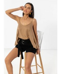 bf8f47c721c2 The Fashion Project Lingerie top με δαντέλα και λεπτό ραντάκι ...