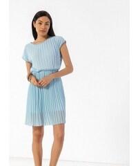 64978fb2e71e The Fashion Project Πλισέ φόρεμα με διπλό ύφασμα - Γαλάζιο - 07780018004