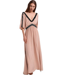 6da440d96b05 Aggel Knitwear Aggel Φόρεμα S19010 - Ρόζ