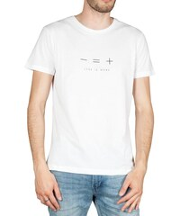 11d2b208236b Bigbong ανδρικό t-shirt Less is more λευκό