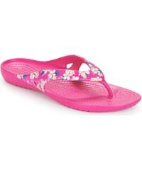 0e147a07c9b Crocs, Crocs Kadee II Seasonal Flip w 205635-92L FLORAL/CANDY PINK,