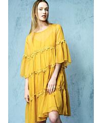 1b3663233d7b Λεπτομέρειες · Cuca Φόρεμα Τούλινο Με Βολάν