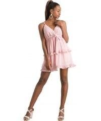 2d43e201d0f8 DeCoro F11051 Φόρεμα με Παγιέτες και Κρόσια - ΜΠΕΖ - 10 - Glami.gr