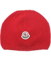 232b184f961 Moncler Βρεφικά Καπέλα για Κορίτσια Σε Έκπτωση Στο Outlet, Κόκκινο, Παρθένο  μαλλί, 2019