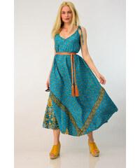 e074a54ce571 Potre Φόρεμα indie style από μετάξι