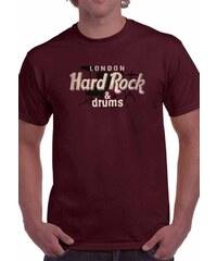 bce35fba7555 Keya Ανδρικό Κοντομάνικο T-Shirt - HARD ROCK - Keya - Μπορντώ - HD963