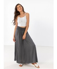 848c042f5a5 The Fashion Project Maxi φούστα με μπάσκα - Ανθρακί - 07923039001