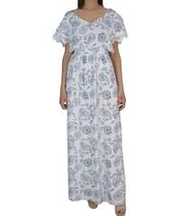 543de9f2f8e5 Maxi Φόρεμα Toi   Moi 50-3758-19 Λευκό Φλοράλ toimoi 50-3758