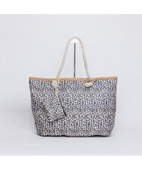 3aecc38189 Bag to bag H-901020 Τσάντα θαλάσσης animal print - Άσπρο-μαύρο