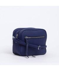 fcdad27041 Bag to bag Y-201214 Τσαντάκι χιαστί με φερμουάρ - Μπλε