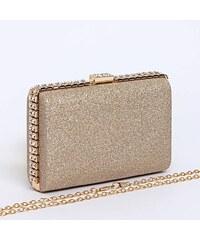 6f576718ca Bag to bag CK-911712 Τσαντάκι clutch με στρας - Χρυσό