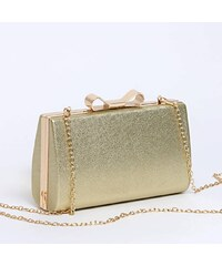 f326e723b9 Bag to bag 1009922 Βραδινό τσαντάκι clutch - Light gold