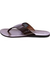 983cf1df624 Ανδρικές Σαγιονάρες & Πέδιλα Leather.Sandal Καφέ Δέρμα Tommy Hilfiger