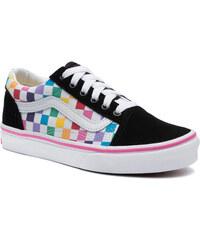4b474a9f6b9 Πάνινα παπούτσια VANS - Old Skool VN0A4BUUU091 (Checkerboard) Rainbow/Tr