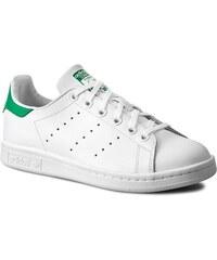 Παπούτσια adidas Stan Smith J S74778 FtwwhtFtwwhtEqtblu