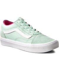 Πάνινα παπούτσια VANS - Old Skool Lite VN0A38HCN0U (Pop) Bay True White 4d3c869e5ed
