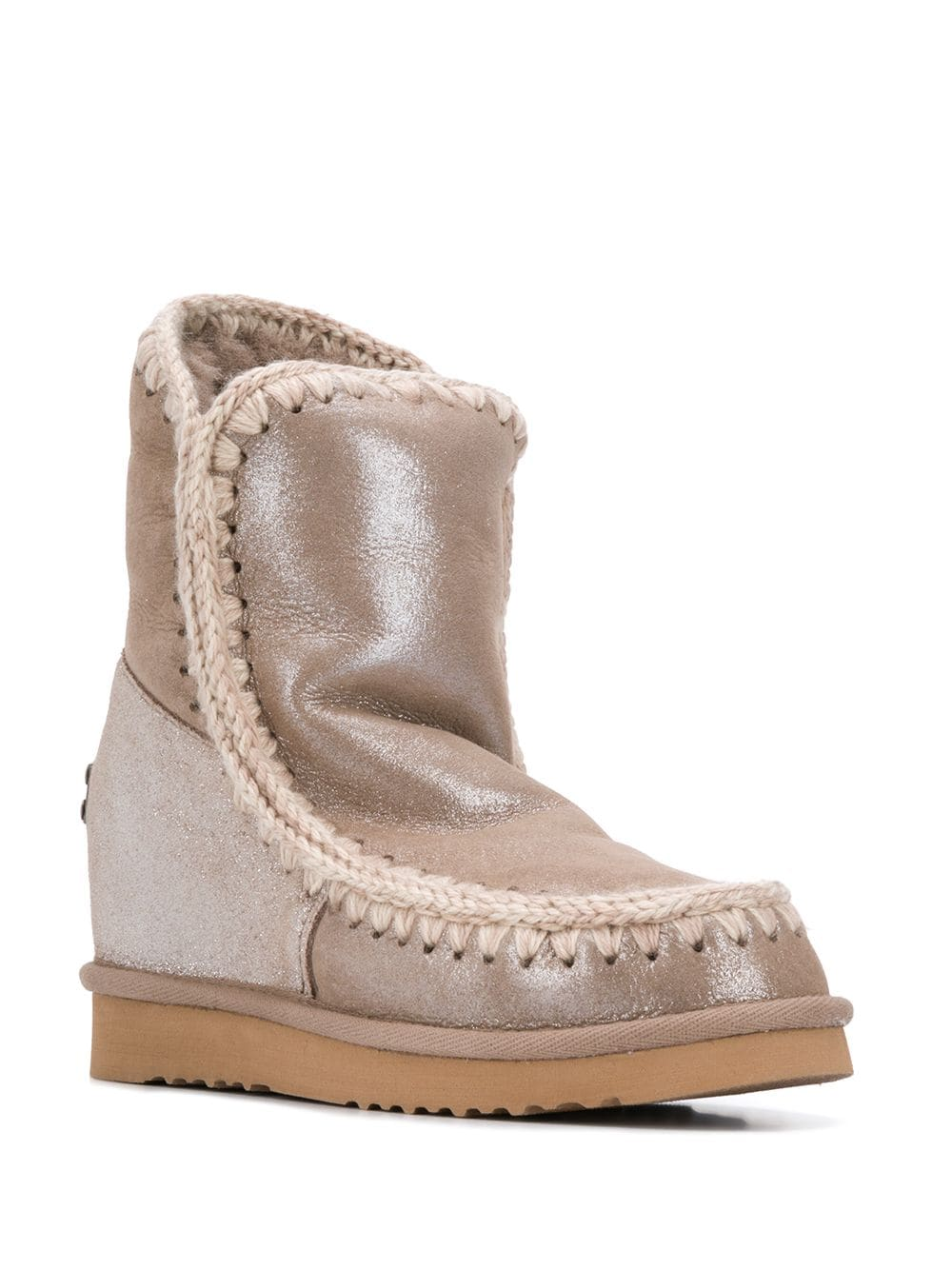 Mou Eskimo Wedge snow boots - Grey