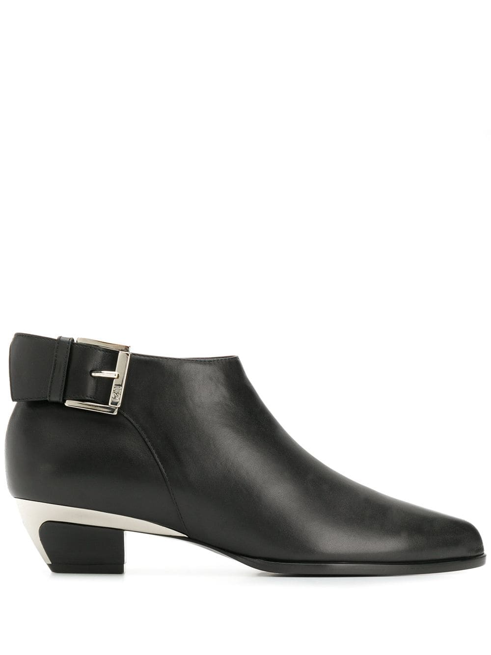 Nº21 ankle buckle boots - Black