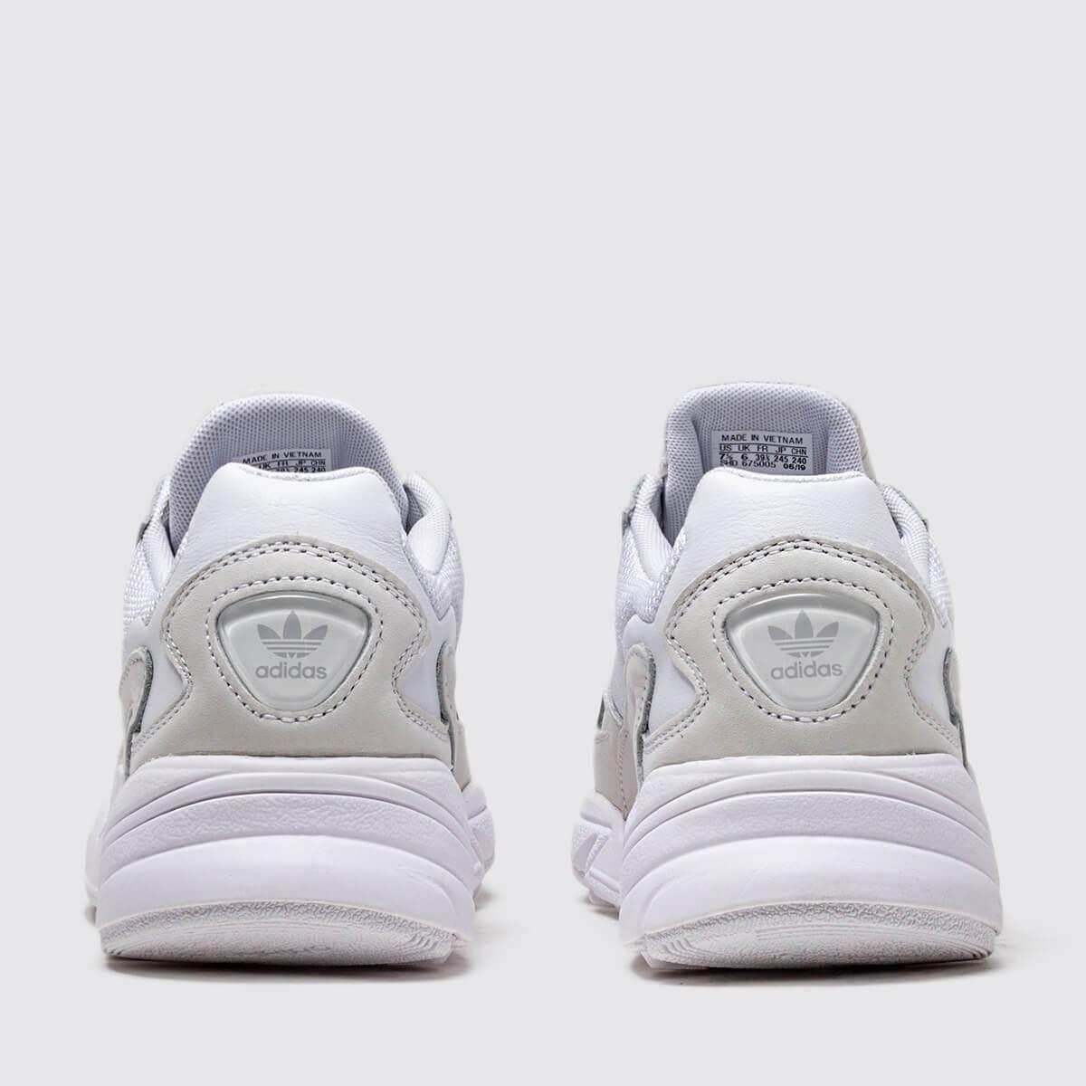 Adidas Falcon W (B28128-Ftwwhite/Ftwwhite/Crywht)