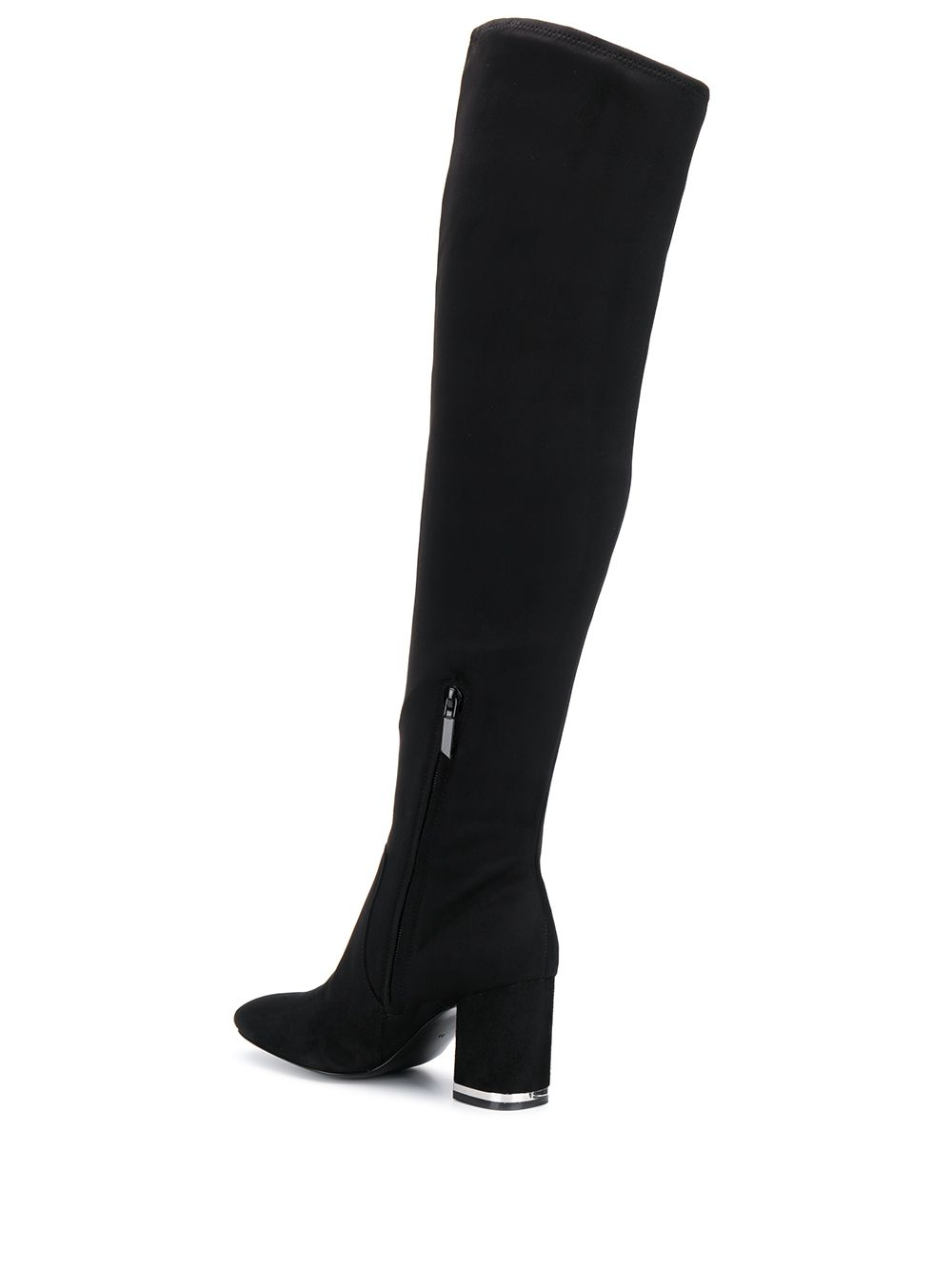 Calvin Klein Jeans over-the-knee boots - Black