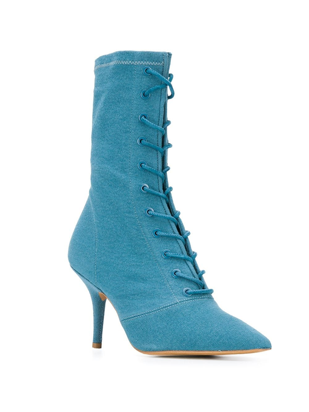 Yeezy 95 lace-up ankle boots - Blue