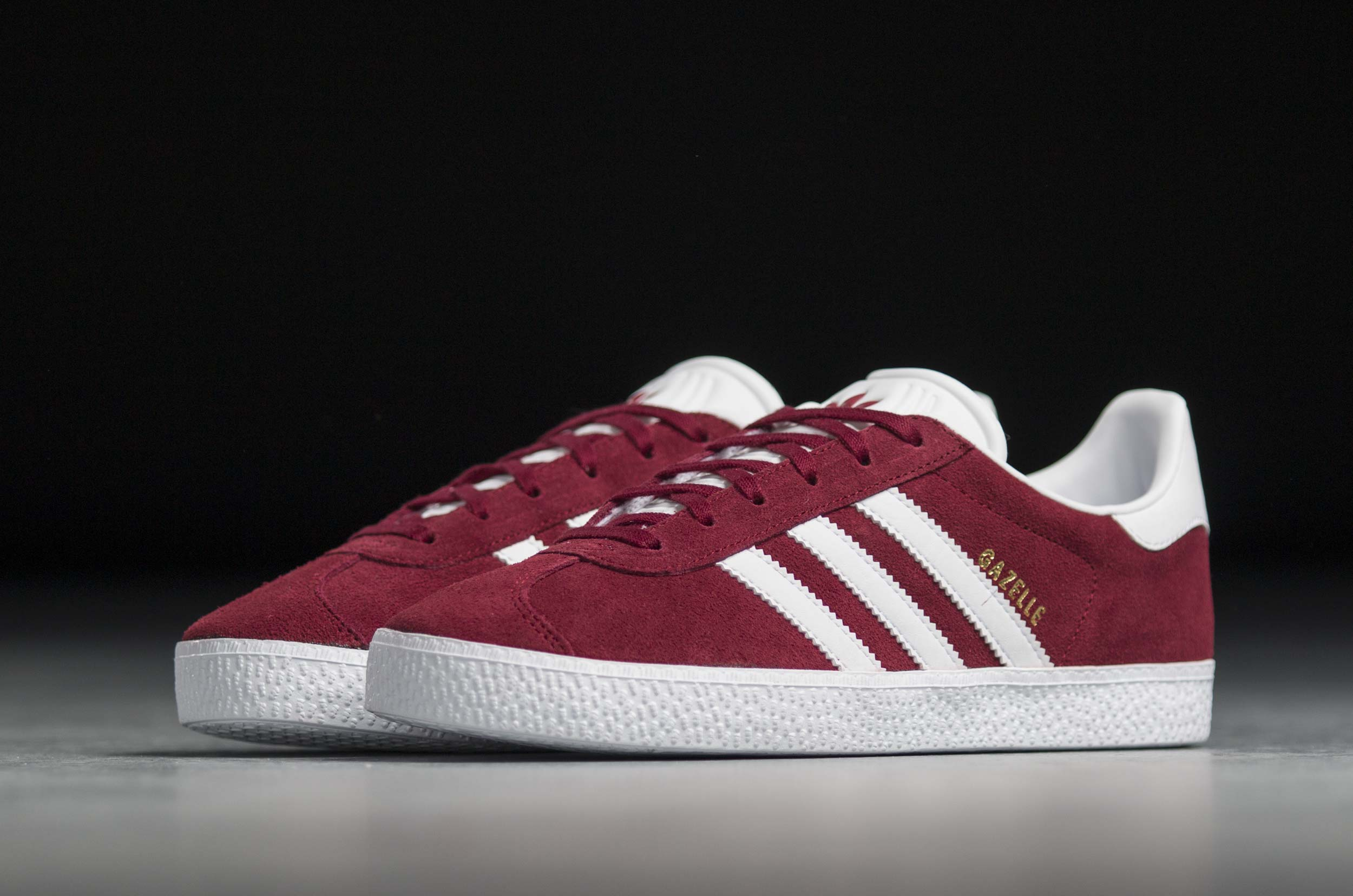 adidas Originals GAZELLE J CQ2874 Μπορντό.