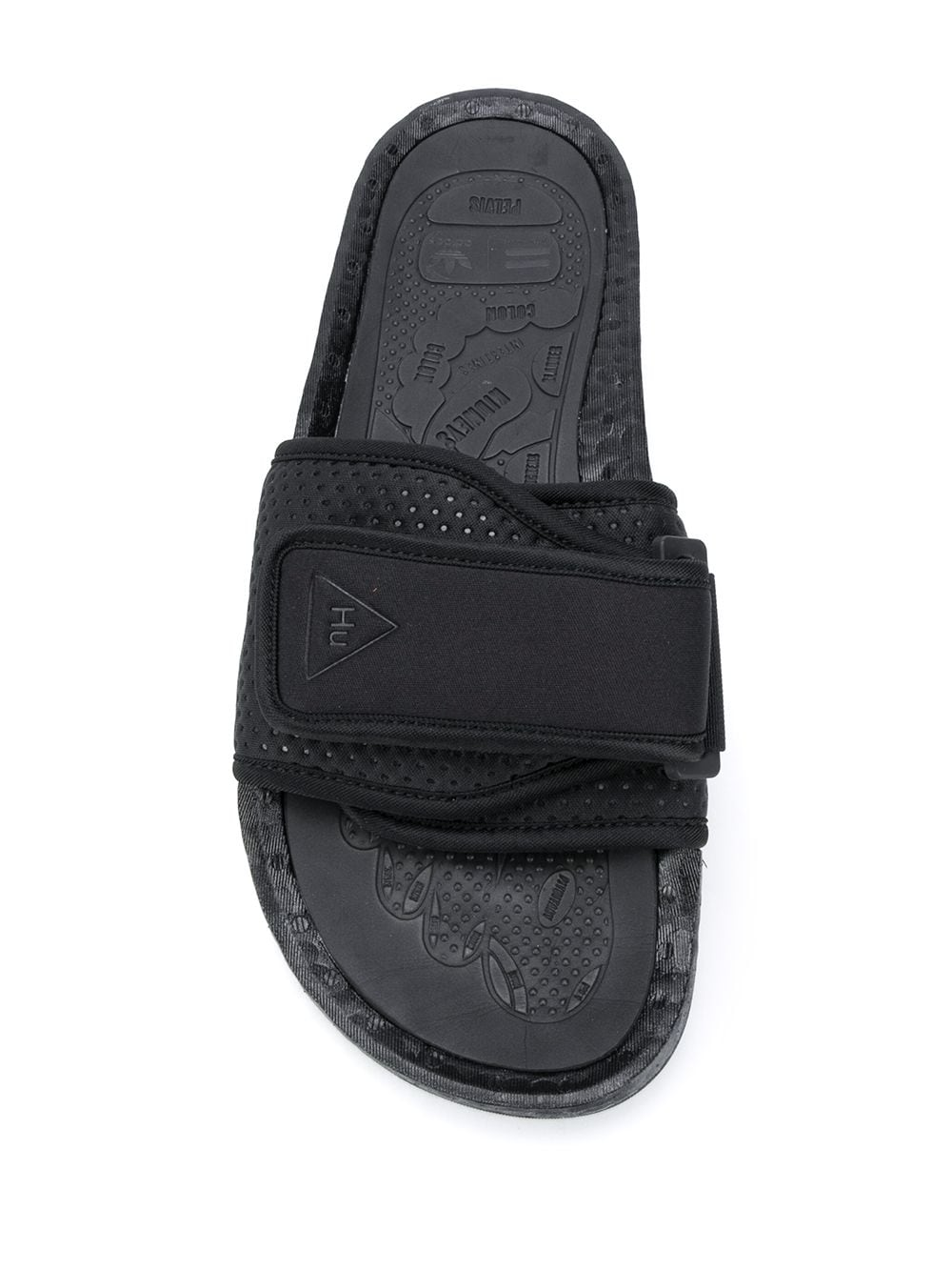adidas by Pharrell Williams Boost sole pool slides - Black