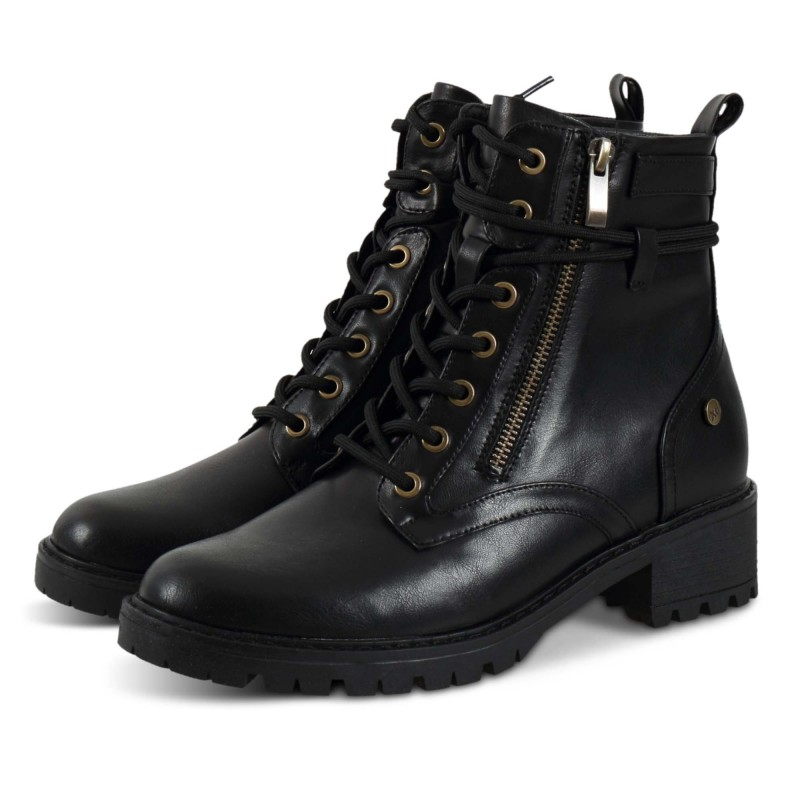 Xti Ankle Boots 44693 Μαύρο.