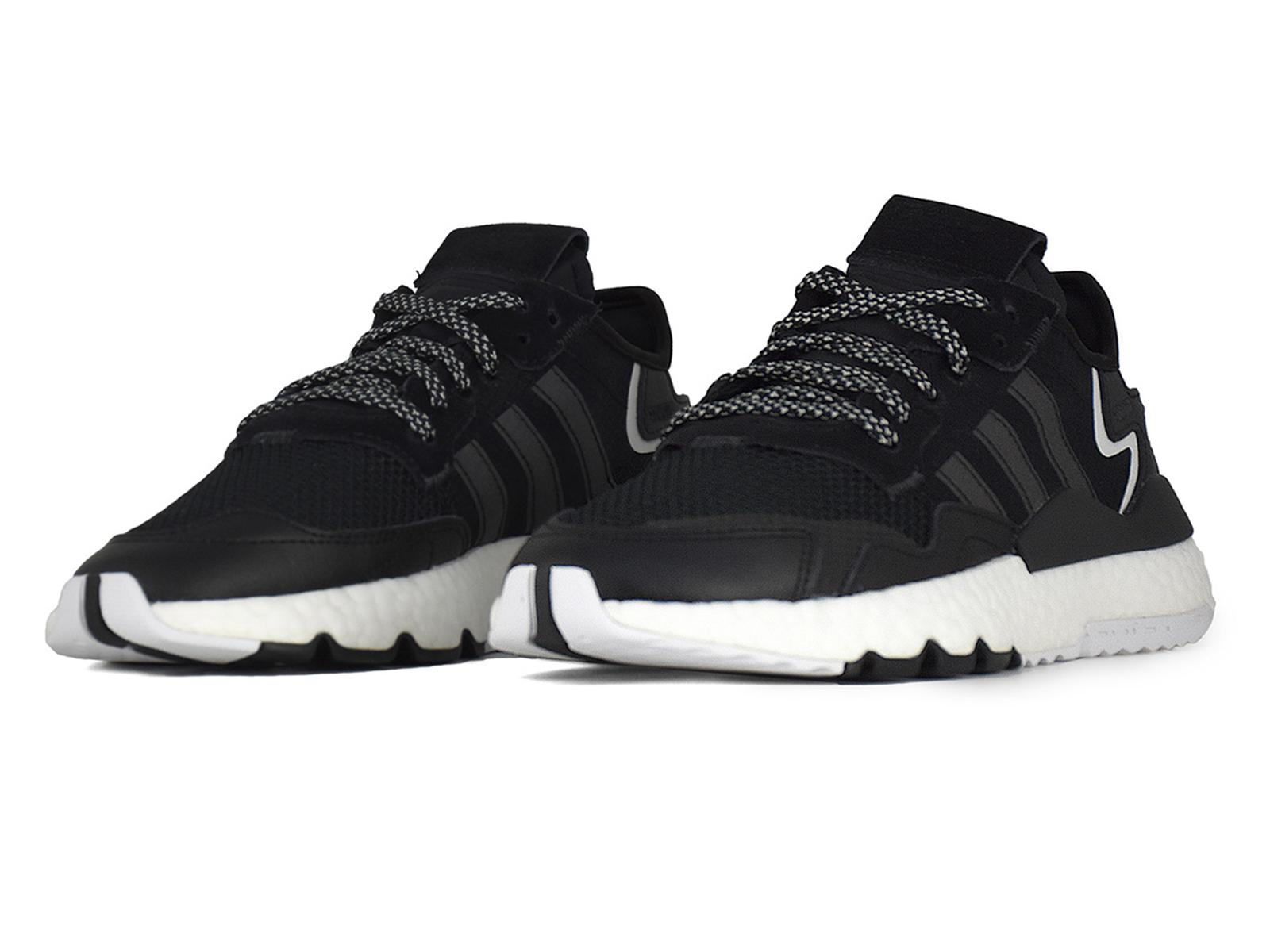 - Γυναικεία Παπούτσια Adidas   Nite Jogger J EE6481   Womens Shoes Μαύρο-Άσπρο.
