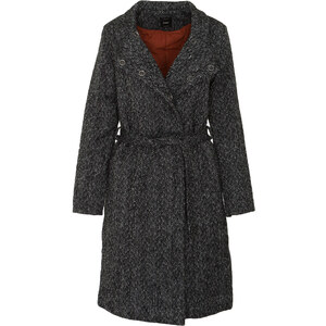 ONLY CINDY LONG WOOL COAT - 15161128-BLACK BLACK - Glami.gr 964f02a2bbc