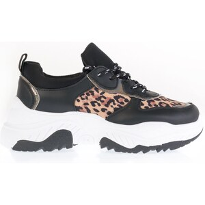 b69834cbc9af ARTE PIEDI Gem Sneaker -Μαύρο - Λεοπάρ - Glami.gr