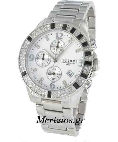 DISSONI Γκρι Γυναικεία ρολόγια - Glami.gr 7414b0f7de4