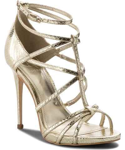 Guess Χρυσά Γυναικεία σανδάλια και πέδιλα - Glami.gr d583111d249