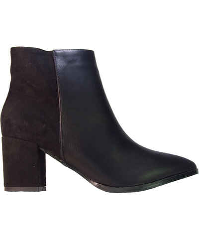 23867436c4b IDEAL SHOES Σουέντ Γυναικείες μπότες και μποτάκια αστραγάλου - Glami.gr