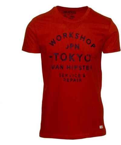 fe0ac5833fc2 Κόκκινα Ανδρικά μπλουζάκια