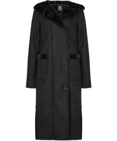 Μαύρα Γυναικεία παλτά Με κουκούλα  589706e847c