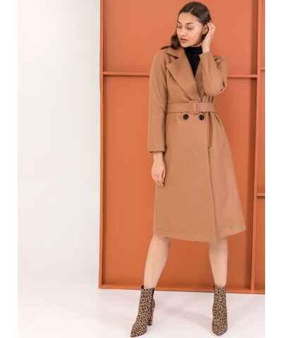 Καφέ Έκπτώση άνω του 40% Γυναικεία μπουφάν και παλτά - Glami.gr a2db525c574