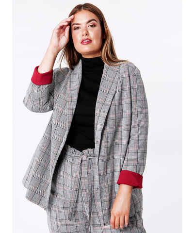 Γκρι Γυναικεία σακάκια και μπλέιζερ σε μεγάλα μεγέθη - Glami.gr 7a79c1e1d76