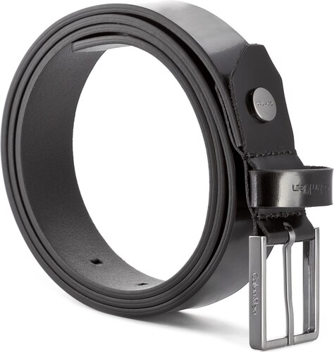 7bf4db2e943 Ζώνη Ανδρική CALVIN KLEIN - Slim Belt K50K503595 100 001 - Glami.gr