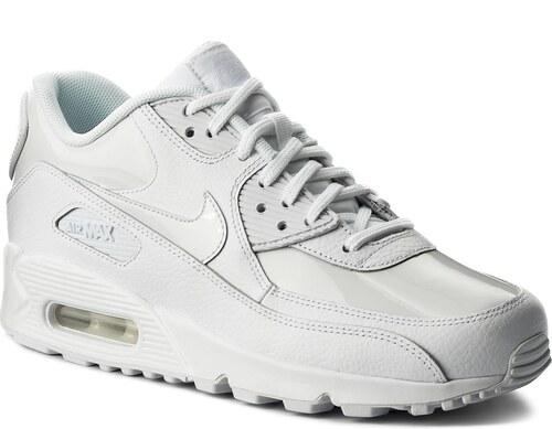 promo code be806 d956a Παπούτσια NIKE - Wmns Air Max 90 Lea 921304 101 White White White