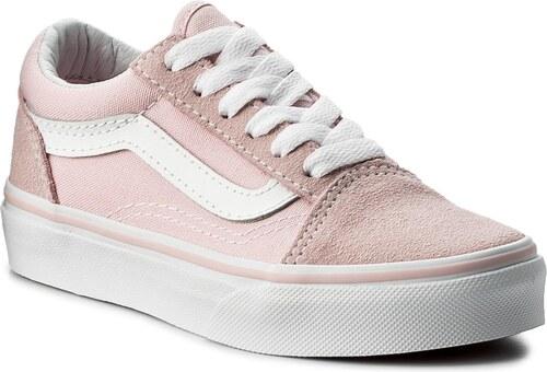 Πάνινα παπούτσια VANS - Old Skool VN0A38HBQ7K (Suede Canvas) Chalk Pink 34645d3f29d