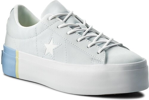 2e99a9e4da5 Αθλητικά CONVERSE - One Star Platform Ox 559903C Blue Tint Blue Chill White