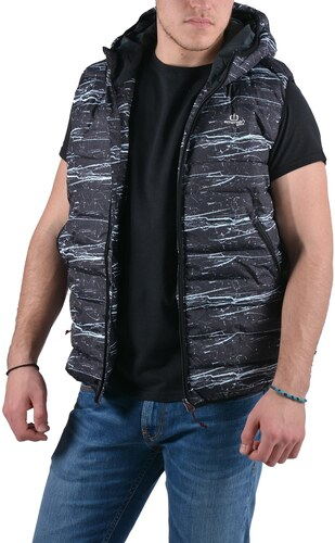 786285319cbd Emerson Men s washed vest with hood