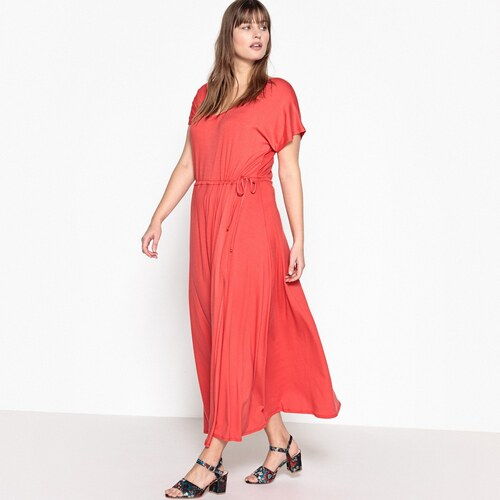 CASTALUNA Κοντομάνικο maxi φόρεμα - Glami.gr 11a8dd0e06e