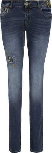DESIGUAL  EXOTIC  ΓΥΝΑΙΚΕΙΟ JEAN 17WWDD24-5008 (5008 DENIM DARK BLUE ... 3a1824a23e1